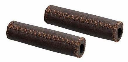 San Marco Handvat Leder 125mm Bruin Per Stel