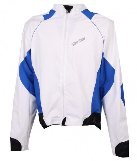Santini Sportjack H2O Unisex Wit / Blauw Maat XXXL