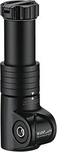 Satori adapter Heads Up ET 28,57 / 65 / 28,57 mm aluminium zwart