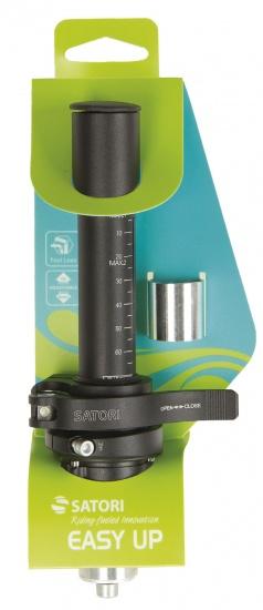 Satori Easy Up hoogte adapter 25.4 / 205 / 28,6 mm matzwart