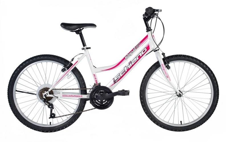 Schiano Integral 20 Inch 28 cm Meisjes 6V V Brake Wit/Roze