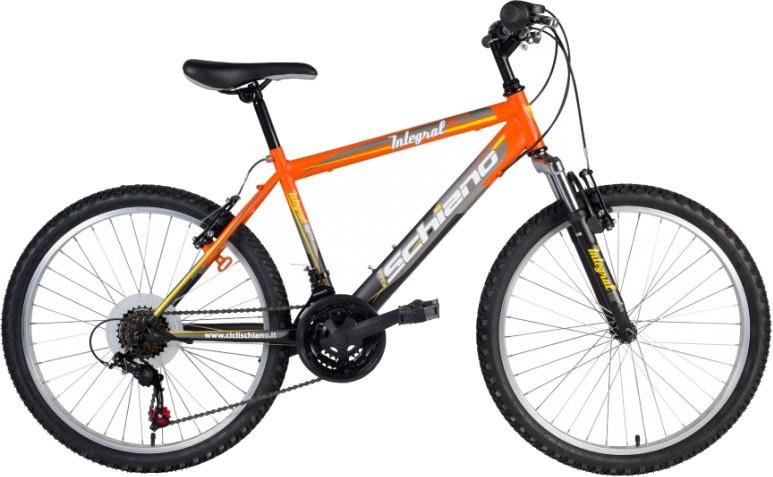 Schiano Integral 26 Inch 46 cm Heren 18V V Brake Oranje/Zwart