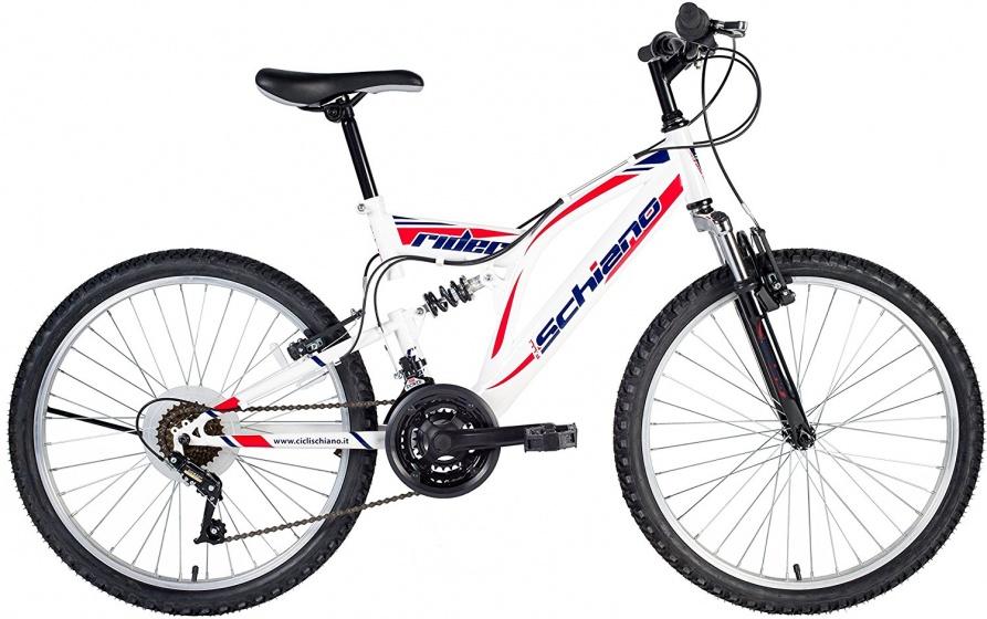 Schiano Rider Tourney 24 Inch 41 cm Jongens 18V V Brake Wit