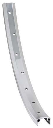 Van Schothorst Velg AS26F 28 x 5/8 inch aluminium 36 G zilver