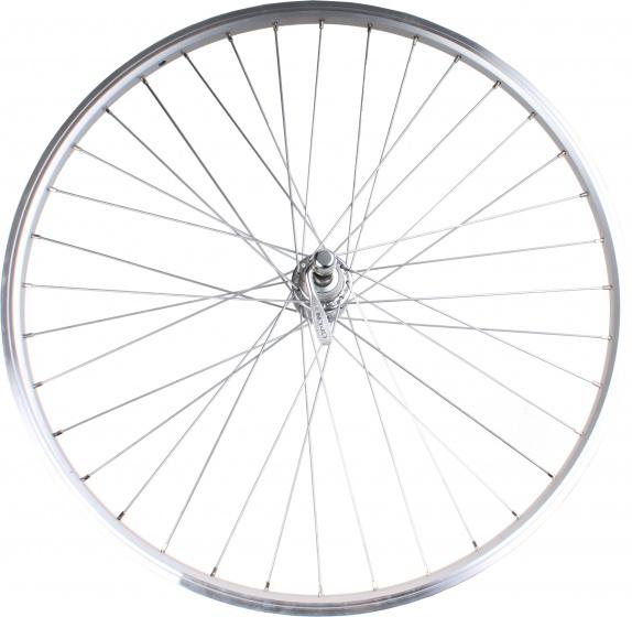 Schumann achterwiel YAK19 freewheel 26 inch velgrem zilver