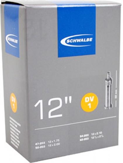 Schwalbe binnenband 12 x 1.75/2 1/4 (47/62 203) DV 35 mm