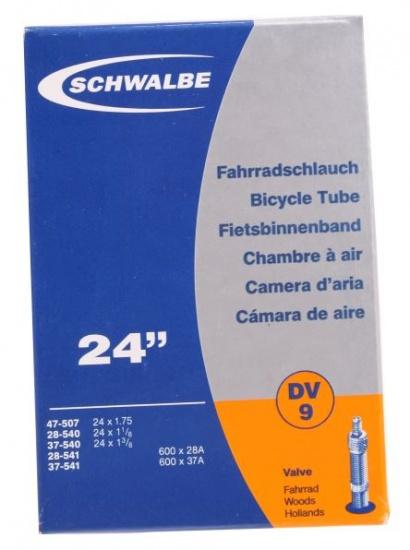Schwalbe Binnenband 24 x 1.75/1 3/8 (28/47 507/541) DV 40 mm