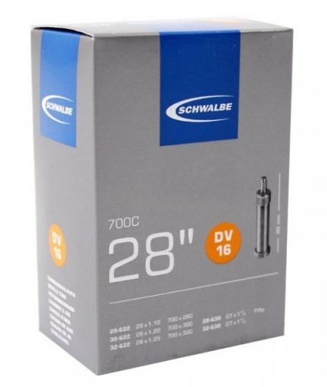 Schwalbe binnenband 27/28 x 1.10/1.25 (28/32 622/630) DV 40 mm