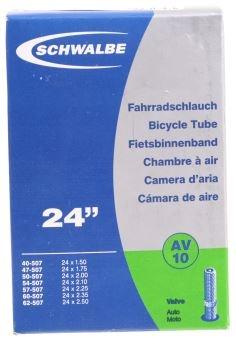 Schwalbe Binnenband DV10 24 x 1.50/2.50 (40/62 507) AV 40 mm