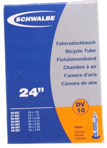 Schwalbe Binnenband DV10 24 x 1.50/2.50 (40/62 507) DV 40 mm