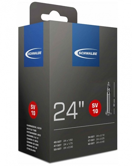 Schwalbe binnenband SV10 24 x 1.50/2.50 (40/62 507) FV 40 mm