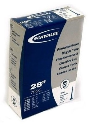 Schwalbe - Binnenband Sv20 27 X 7/8 / 28 X 1.00 (18-622/25-630) Fv 80 Mm