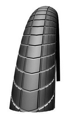 Schwalbe Buitenband HS430 Big Apple 24 x 2.00 (50 507) zwart