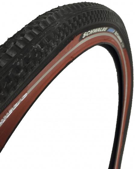 Schwalbe Buitenband HS361 Returner 26 x 2.125 (57 559 )zwart/rood
