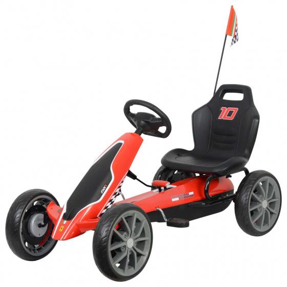 Scuderia - Gokart Junior Rood/zwart