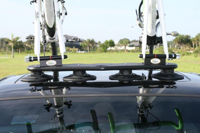 SeaSucker fietsendrager dak Mini Bomber 2 fietsen