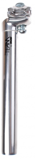 Selcof zadelpen vast Team 7000 27,0 x 300 mm aluminium zilver