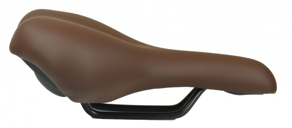 Selle Monte Grappa zadel Nevea 260 x 205 mm dames donkerbruin