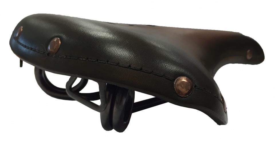 Selle Monte Grappa zadel Old Frontiers Classic leer 28 cm dbruin