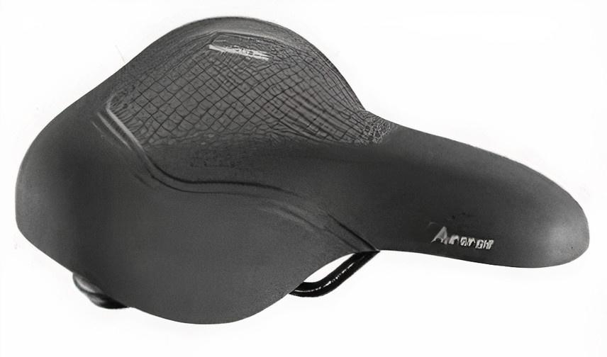 Selle Royal zadel Aurorea Relaxed 25 cm foam/staal zwart