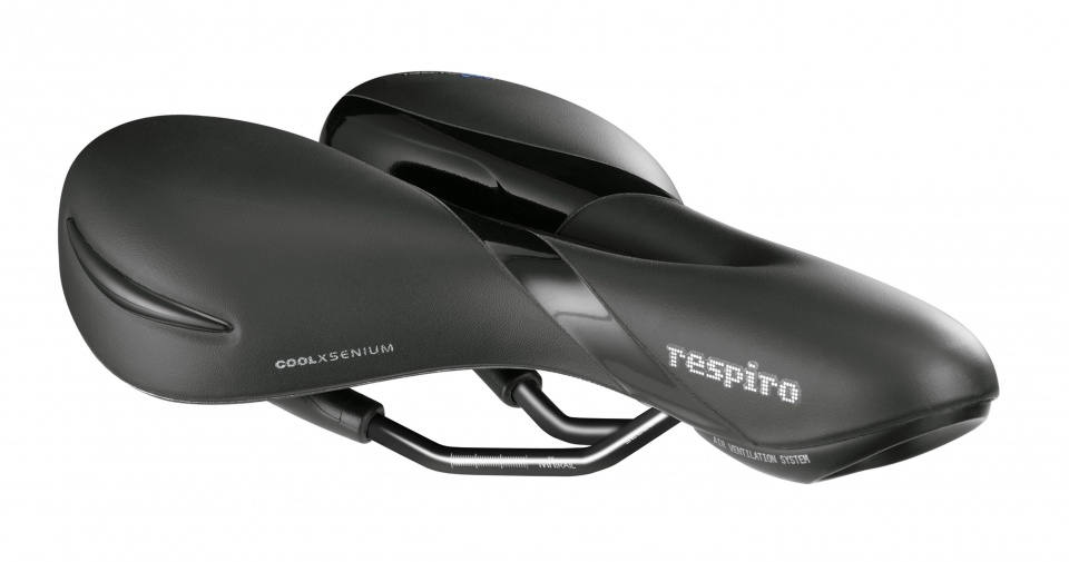 Selle Royal - Zadel Respiro Moderate 277 X 182 Mm Heren Zwart