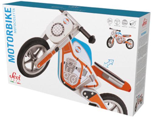Sevi Motorfiets Junior Oranje/Blauw