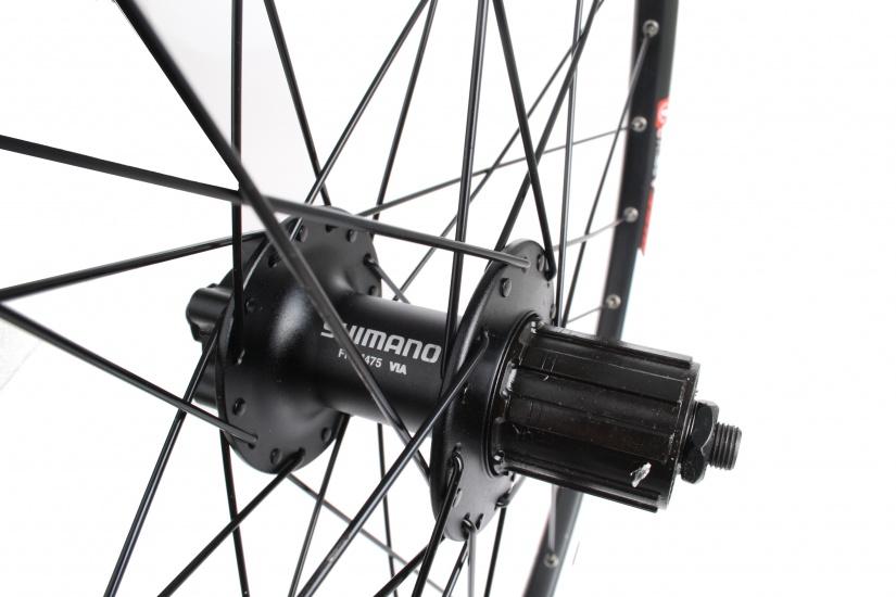 Velox Wielset ATB 26 Inch Schijfrem Aluminium 32S zwart