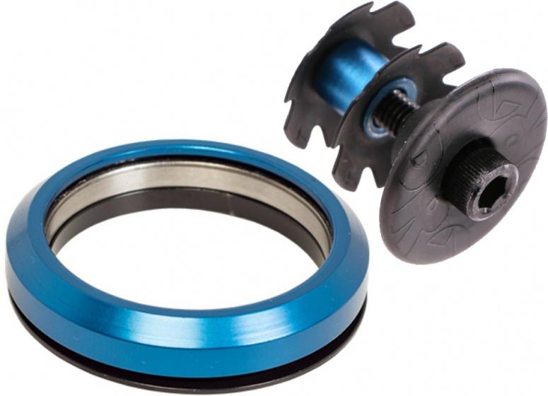 Pro balhoofdlager en balhoofdplug 1 1/2 inch 45� blauw