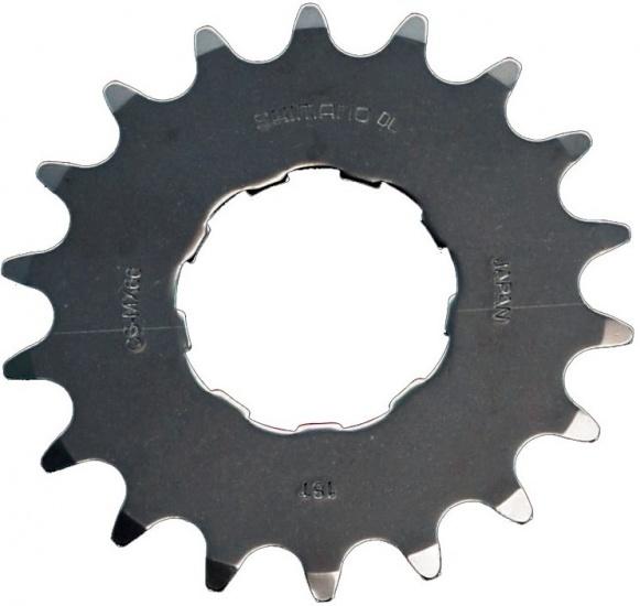 Shimano Tandwiel Opsteek 18T DXR CS MX66 BMX 1/2x3/32 Inch