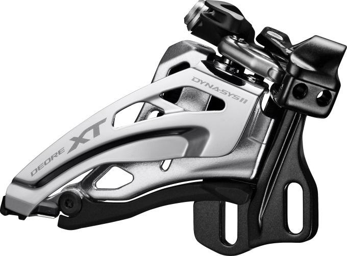 Shimano Derailleur voor Deore XT FD M8020 H 2 x 11sp zilver