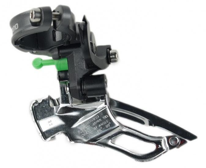 Shimano Derailleur Voor FD M785 E2 Deore XT Down Swing Dual Pull