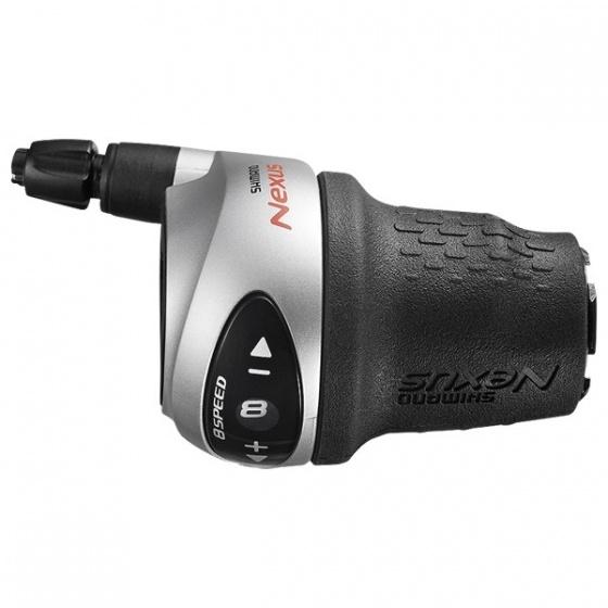 Shimano draaiversteller Nexus C6000 8S rechts zilver/zwart