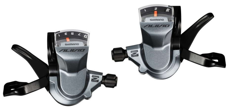 Shimano duimversteller set Alivio SL M4000 3x9S titanium