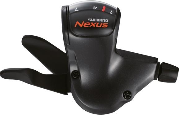 Shimano duimversteller Nexus rechts 7S zwart