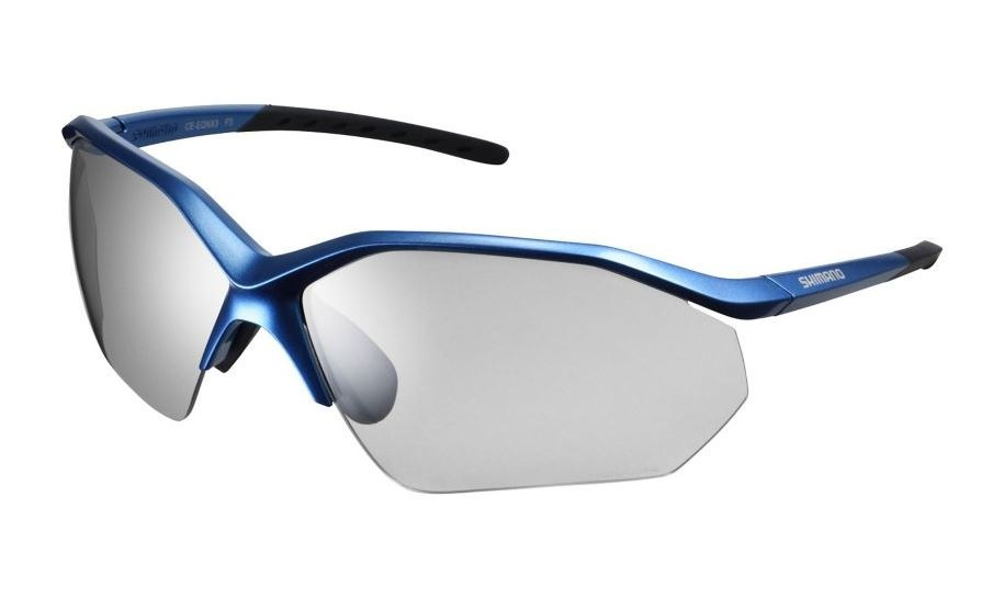 Shimano fietsbril Equinox 3 unisex fotochromisch blauw