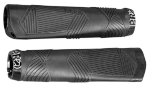 Pro handvatten Lock On Ergonomic 13,5 cm zwart per paar