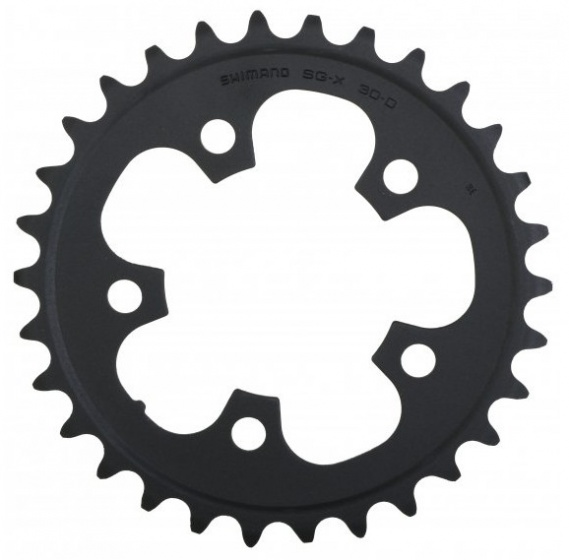 Shimano Kettingblad 105 FC 5703 30T 10S 130 mm zwart