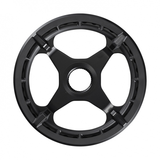 Shimano kettingblad Steps SM CRE50 38T zwart met dubbel kettingscherm