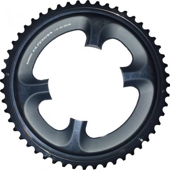 Shimano kettingblad Ultegra 52T 11SP 110 mm zwart