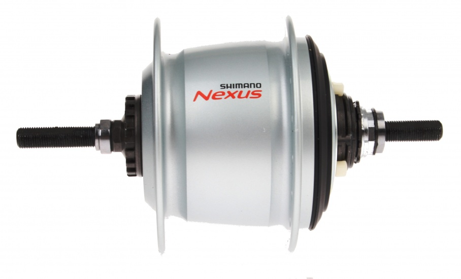 Shimano Nexus 8V Naaf Achter Rollerbrake Kaal Zilver 36 Gaats