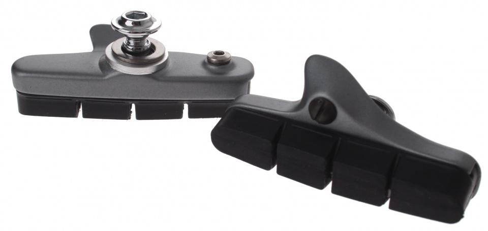 Shimano remblokken BR 6700 V brake 53 x 10 mm mat grijs/zwart 2 stuks