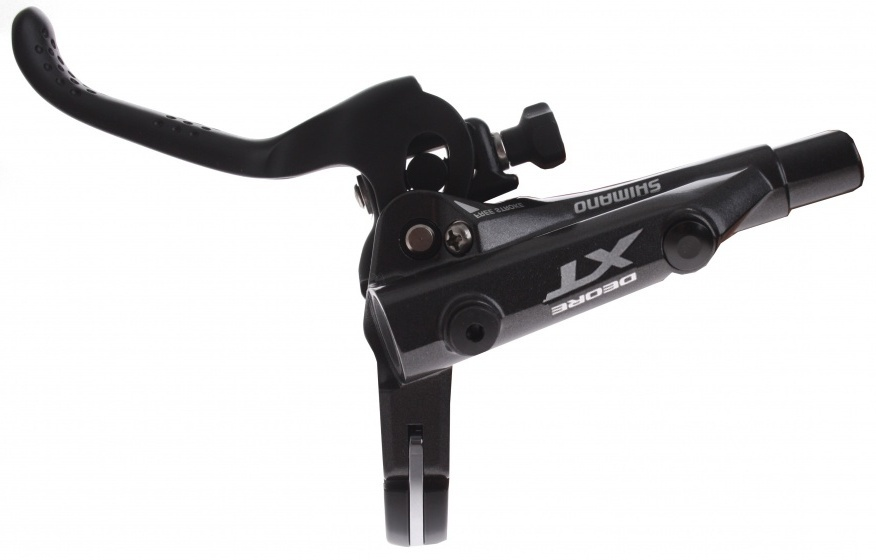 Shimano remgreep Deore XT hydraulisch links 2 vinger zwart