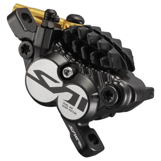 Shimano schijfremklauw voor Saint BR M820 aluminium zwart