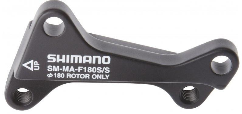 Shimano remschijfadapter SM MA F180S/S voor 180 mm zwart