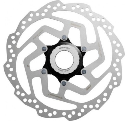 Shimano remschijf SM RT10 180 mm Center Lock zilver