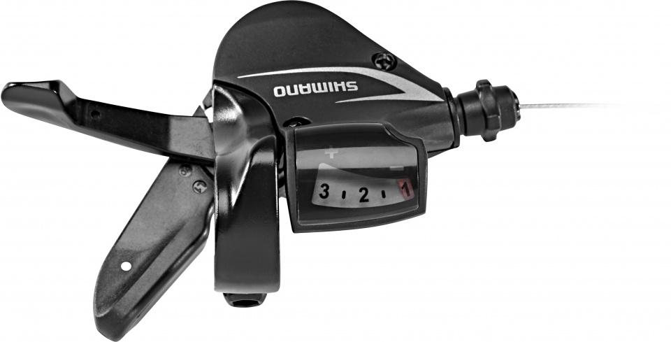 Shimano shifter Acera SL M360 3 speed links zwart
