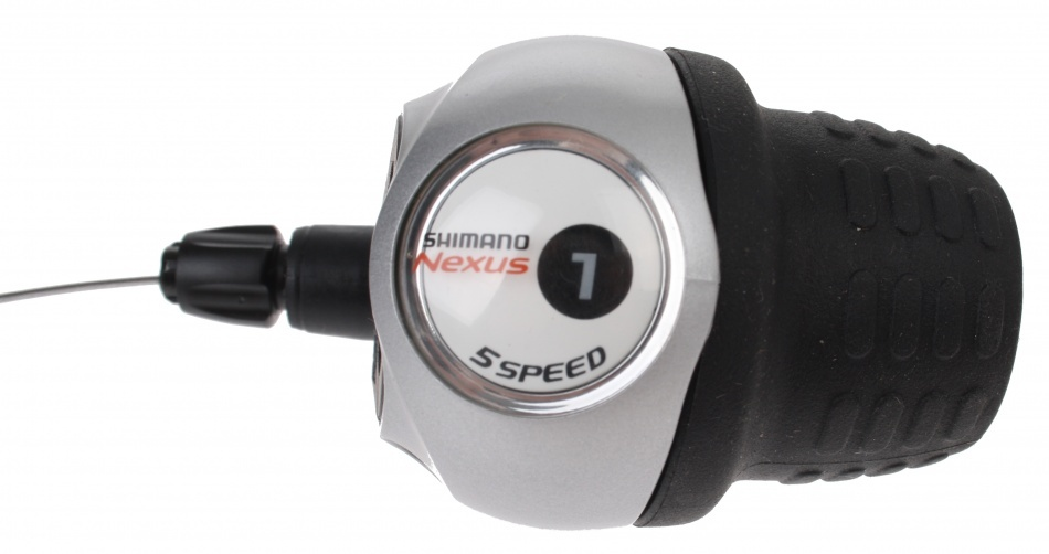 Shimano shifter Nexus 5 Speed 2100 mm zilver/zwart
