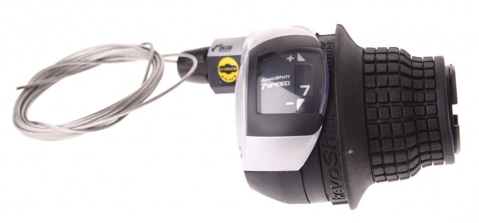 Shimano Shifter Revo SL RS45 7SP Rechts Zwart / Zilver