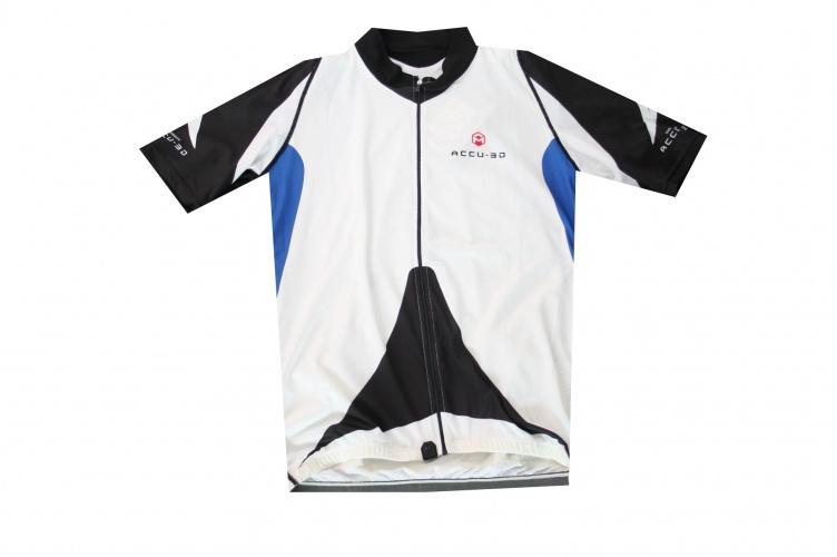 Shimano Fietsshirt korte mouw Accu 3D Heren Wit Maat XL