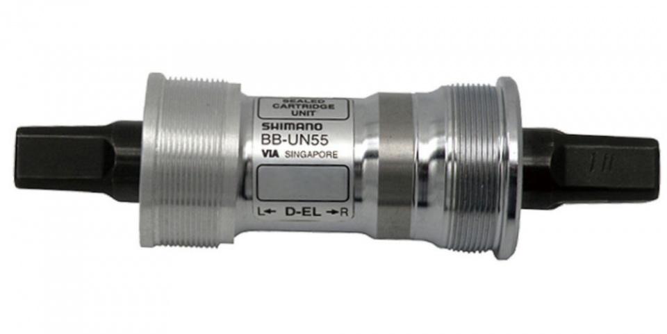 Shimano trapas Deore LX BB UN55 staal 68/122 mm zilver/zwart